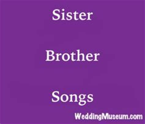 Wedding speech from a sister to her brother
